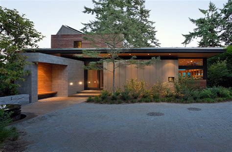 modern eco homes modern home in bainbridge island with sustainable features