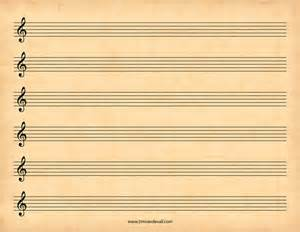 Blank Sheet Treble Clef by Treble Clef Blank Sheet Quotes