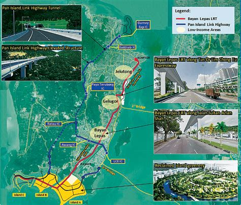 new year in penang 2018 penang lrt and highway construction work to start in 2018