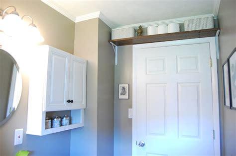 shelf over bathroom door 15 clever organization ideas for a tiny bathroom the
