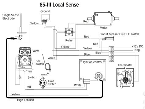 atwood 8531 furnace thermostat wiring diagram 45 wiring