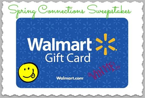 Walmart Gift Card Giveaway - enter to win 25 00 walmart gift card spring connections giveaway