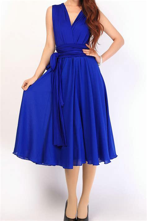 royal blue chiffon overlay chiffon skirt chiffon