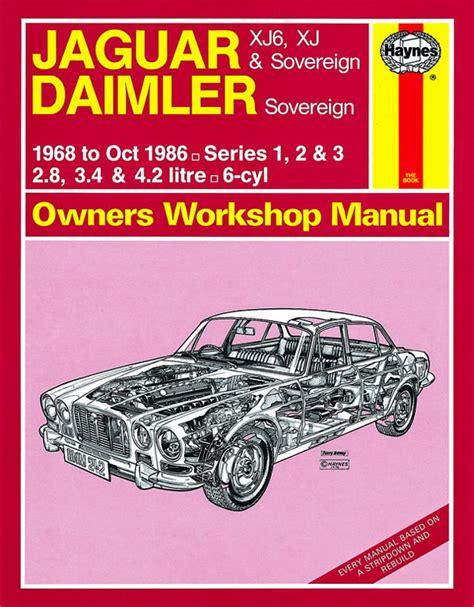 Jaguar Xj6 Xj And Sovereign Daimler Sovereign