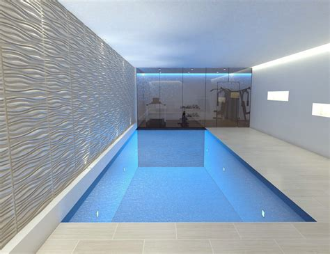basement swimming pool designed and built by olbc