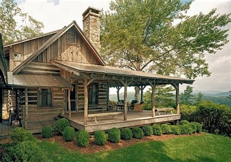 cabin porch log cabin cooking chicken point cabin the owner builder network