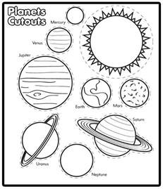 Printable Solar System Coloring Book  Pics About Space sketch template
