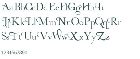 image gallery decorative fonts