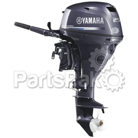 Yamaha F25swhc F25 25 Hp Short Shaft 15 Quot Electric