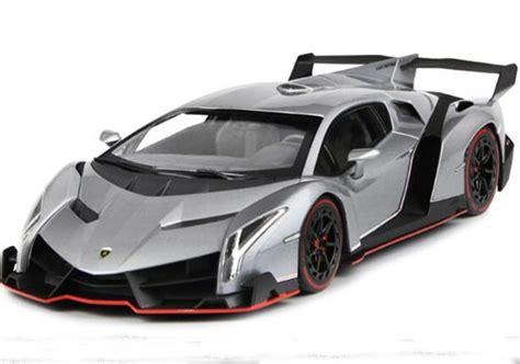 Kyosho Diecast Lamborghini Veneno 1 43 Scale Grey 1 gray 1 18 scale kyosho diecast lamborghini veneno nb9t641 ezbustoys