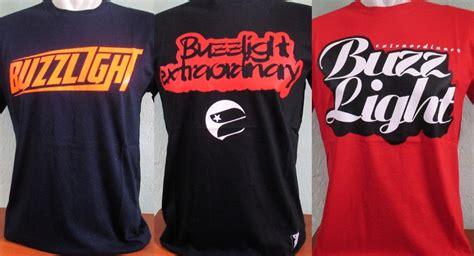 Baju Buzzlight Kaos Buzzlight 19 merk kaos distro brand terkenal paling populer
