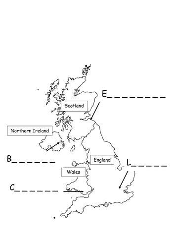 map uk ks1 uk capital cities map by feye17 teaching resources tes