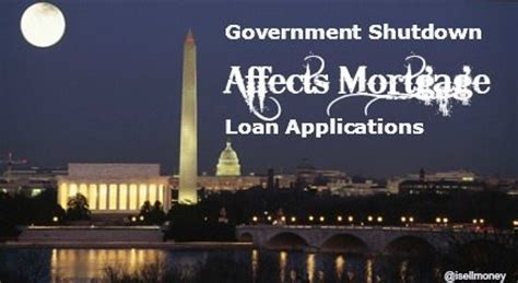 government housing loan application government shutdown affects loan applications nc mortgage experts