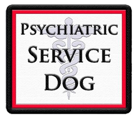 psychiatric service psychiatric service vest patch service color patch
