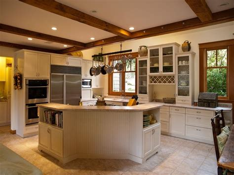 White Cupboards With Wood Trim - stained windows with white trim white kitchen with wood