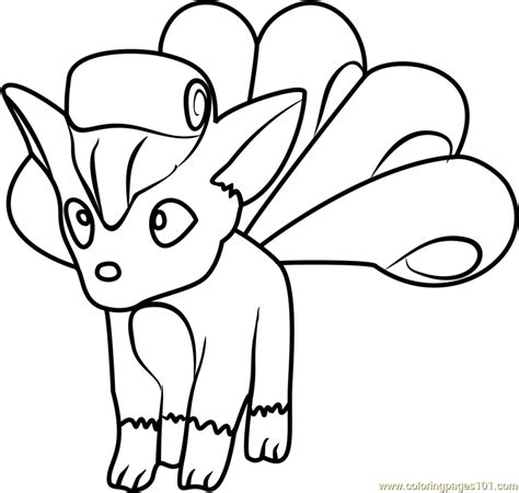 pokemon coloring pages vulpix vulpix pokemon go coloring page free pok 233 mon go coloring