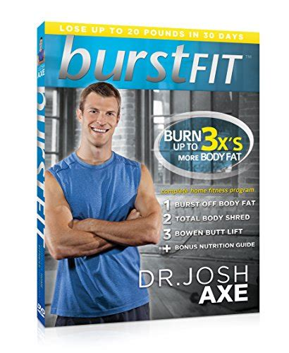 burstfit original dr josh axe s complete home fitness