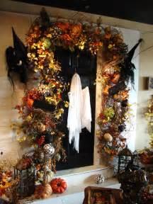Halloween Decor 40 Cool Halloween Front Door Decor Ideas Digsdigs