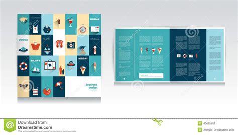 catalogue layout vector summer concept catalog design stock vector image 40615993