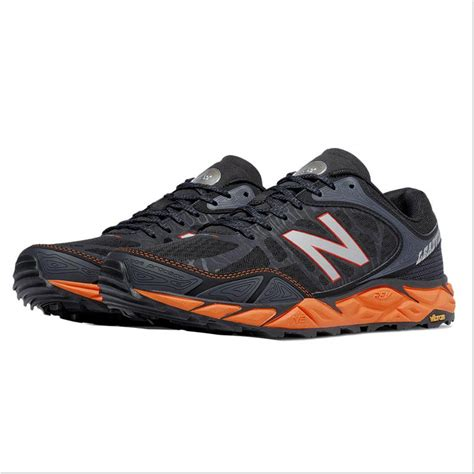 nb sports shoes new balance leadville v3 sport shoes black and orange