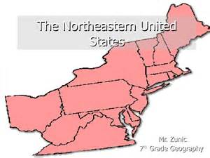 northeastern map of the united states the northeastern united states