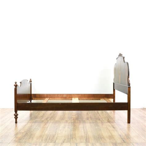 Bed Frames San Diego Antique Depression Era Sized Bed Frame Loveseat Vintage Furniture San Diego