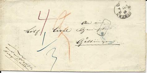 schweiz 1859 porto brief v solothurn n g 246 ttingen hannover 1169 ebay