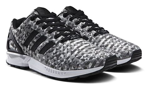 zx flux black and white pattern adidas zx flux black and white prism adidastrainersuk ru