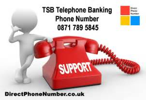 Telephone Banking by Tsb Telephone Banking Phone Number To Find Number