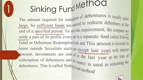 Sinking Fund by Sinking Fund