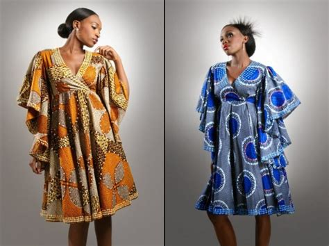 images of bella ankara wears kitenge
