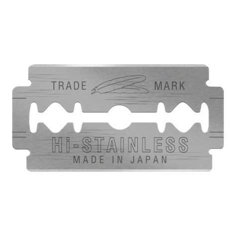 edged blades feather platinum edge razor blades
