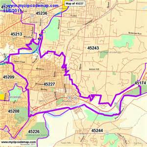 Cincinnati Zip Code Map by Pin Cincinnati Zip Code Map On Pinterest