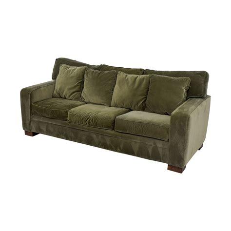 51 macy s macy s green three cushion sofas
