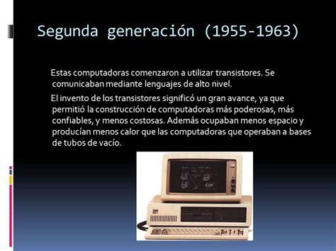 generacion de las computadoras las 6 generaciones de computadoras ppt