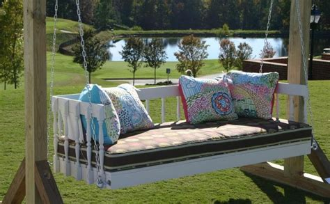 swinging daybed plans 12 diy swing bed ideas to enjoy floating in mid air homecrux