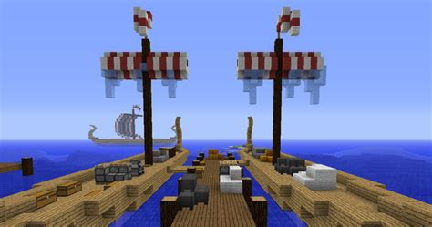minecraft boat generator how to build a viking ship in minecraft minecraft guides