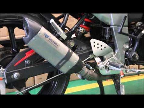 Knalpot Racing Akrapovic Titan Fullsystem Byson knalpot akrapovic black titan byson fz16 system doovi