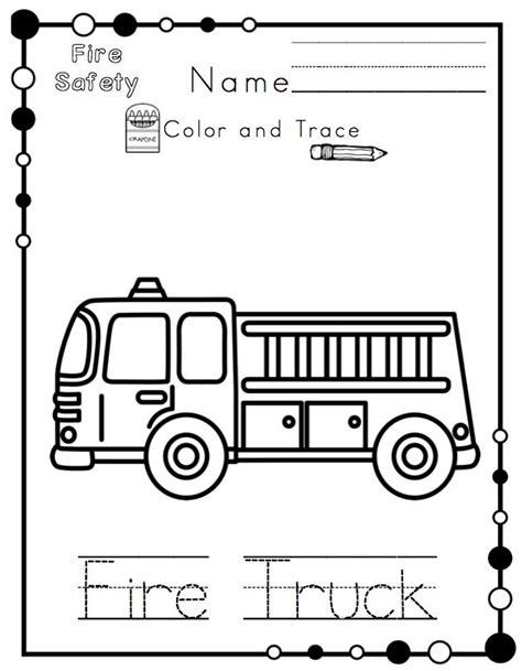 preschool fire safety booklet printables de 16 beste bildene om pre k activities p 229 pinterest