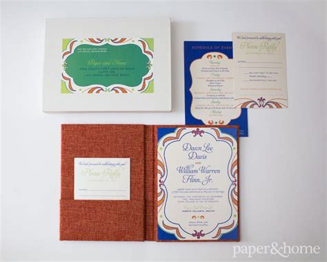 mexico wedding invitations mexican wedding invitations and william paper and home