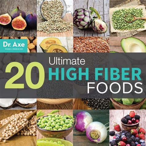 high fiber diet 20 ultimate high fiber foods