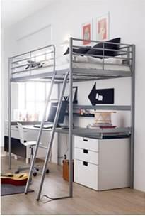 stora full size loft bed frame ikea bedding sets