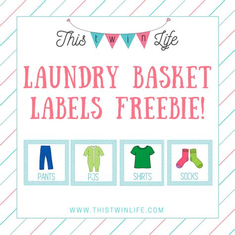 printable laundry tags friday freebie printable laundry basket labels