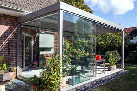 terrasse wintergarten terrassen 220 berdachung flachdach mit glas modern
