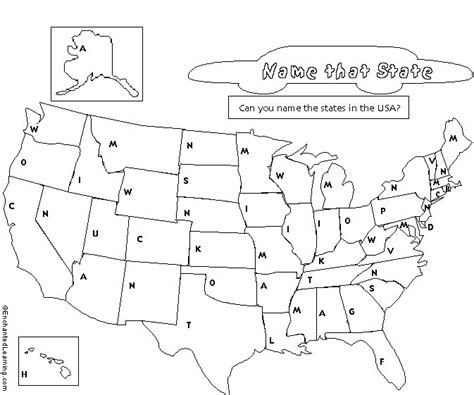printable us state map blank worksheets us map worksheet opossumsoft worksheets and