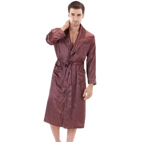 popular mens silk dressing gowns buy cheap mens silk