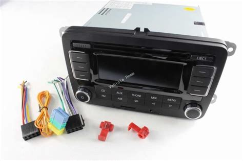 sell oem original bluetooth sd code cd player rcn radio fit  vw volkswagen motorcycle