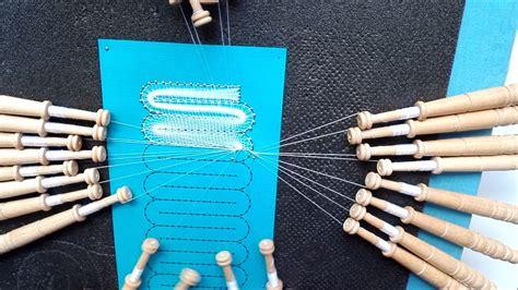 encaje de hinojosa patrones 017 encaje de hinojosa cambio de medio punto a medio