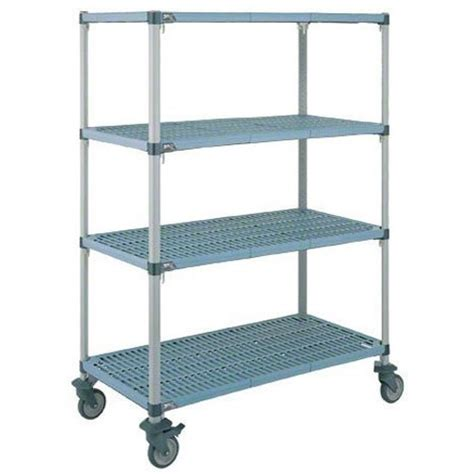Metro Q566bg3 Metromax Q 174 Mobile Open Grid Shelf Cart With Metro Shelving