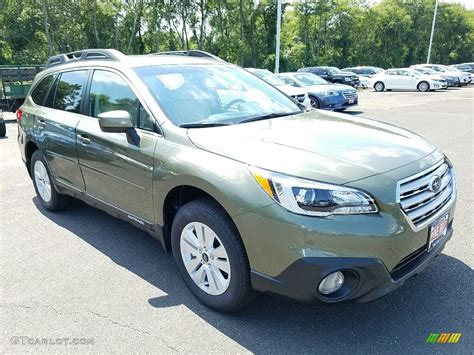 green subaru outback 2017 2017 wilderness green metallic subaru outback 2 5i premium